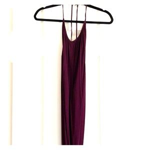Rory Beca Lily maxi dress in currant, size s.